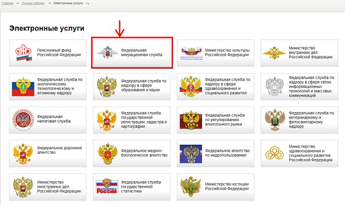 Портал миграционной службы РФ