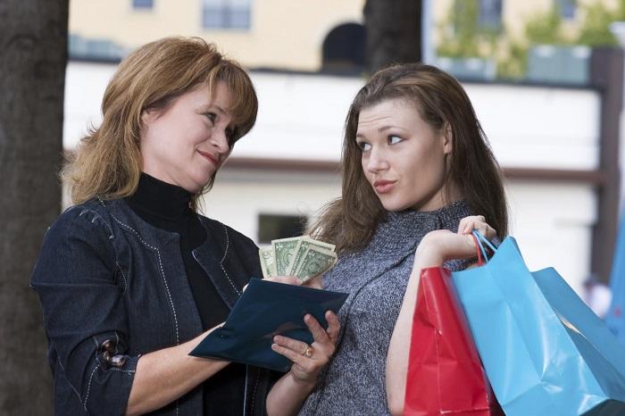 Получение средств у близких людей