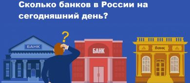 Сколько банков в России на сегодняшний день 2021 года?