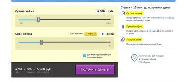 Онлайн заявка на займ от «Джет-мани»