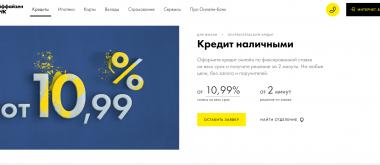 Кредит наличными в Райффайзен Банк: условия выдачи и онлайн заявка