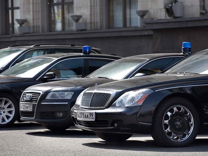 Министерский список роскошных автомобилей
