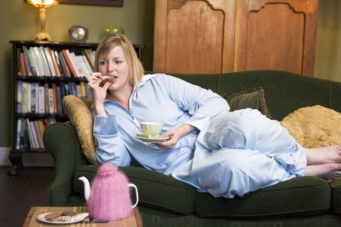 Нетрудоустроенная беременная женщина