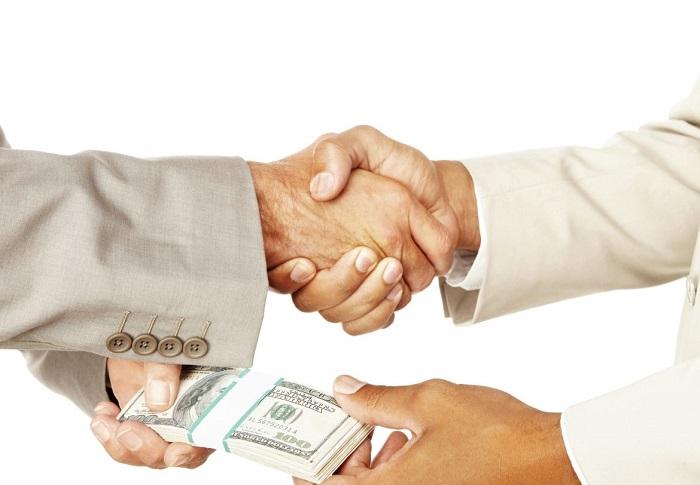 Заем, взятый компанией у частного лица