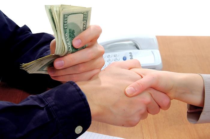 Получение частного займа