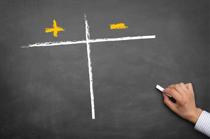 Положительные и отрицательные стороны сотрудничества