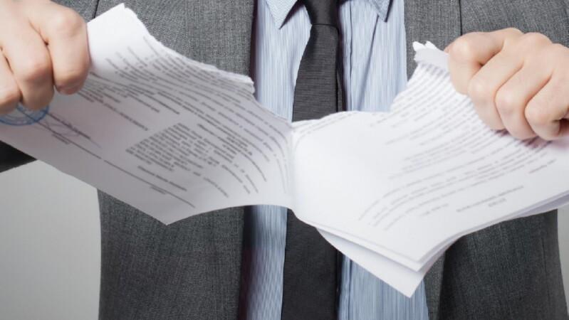 Расторжение договора беспроцентного займа
